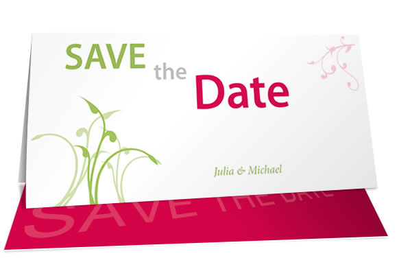 Design Save The Date Cards For Your Wedding