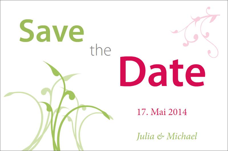 Diy Save The Date Karten Vorlage Konfetti 14